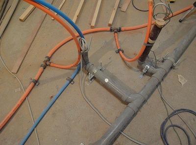排水管接続部
